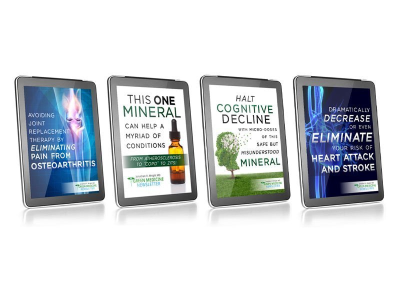 Green Medicine Newsletter E-Book Covers